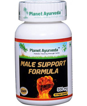 Male Support Formula Planet Ayurveda