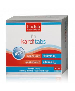 fin Karditabs new Finclub - magnézium, b vitamíny