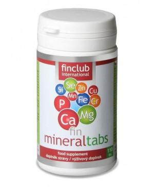 fin Mineraltabs - horčík, vápnik, mangán, zinok