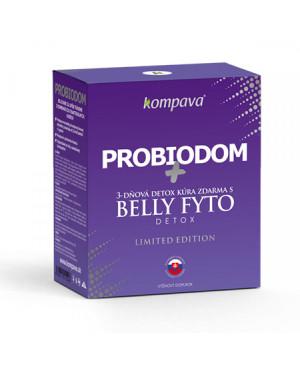 kompava probiodom + belly fyto detox