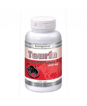 Kompava Taurín 600 mg 120 kapsúl