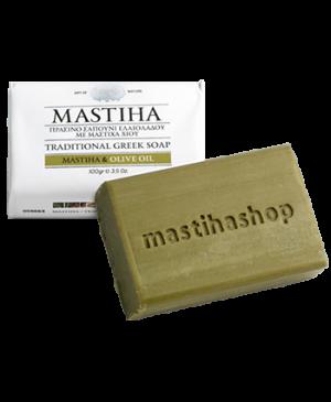 Tradičné grécke mydlo s mastichou a olivovým olejom