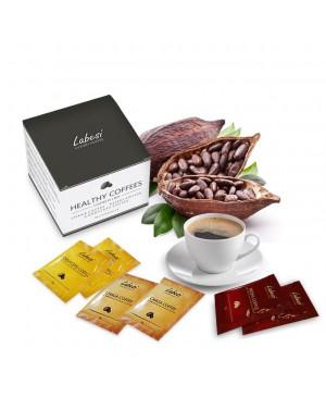 Zdravá káva Multipack - reishi, chaga, cordyceps káva