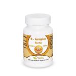 Natural Pharm B - komplex s vitamínom C 100 a 200 tabliet