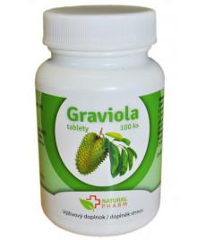 graviola natural pharm 100 tabliet