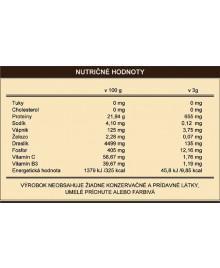 Nutričné hodnoty kávy s hubou reishi