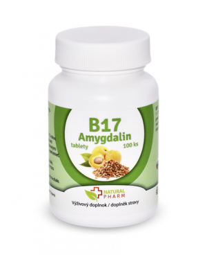 Natural Pharm Amygdalin (vitamín B17) 100 a 200 tabliet