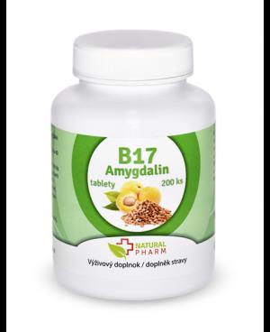Natural Pharm Amygdalin (vitamin B17) 200 tabliet