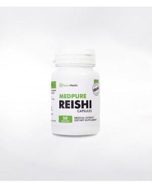 NaturMedic MEDPURE REISHI červená extrakt 50 kapsúl