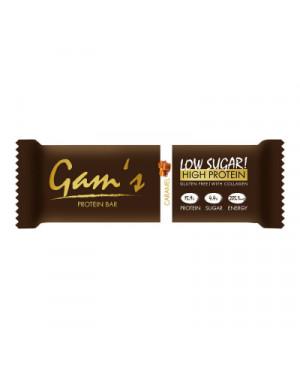 GAM´S Protein bar - caramel 55g