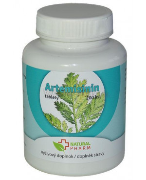 Natural Pharm Artemisinin (Palina ročná) 100 a 200 tabliet