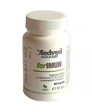 Medveď natural ForIMUN (na imunitu) 60 kapsúl