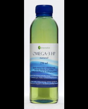 Nutraceutica Rybí olej OMEGA-3 HP Natural, Lemon, Orange 270 ml