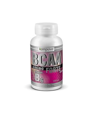 Kompava Amino BCAA Forte 200 kapsúl
