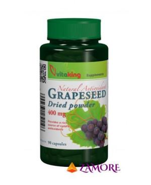 Vitaking Hroznové jadierka extrakt 400 mg 90 kapsúl