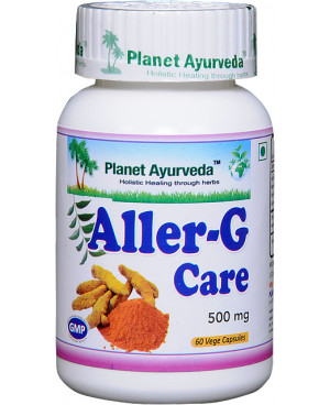 Planet Ayurveda AllerG Care extrakt 500 mg 60 kapsúl