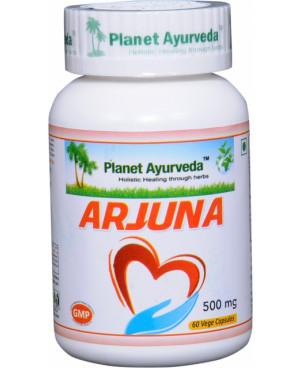 Planet Ayurveda Arjuna extrakt 8:1 500 mg 60 kapsúl