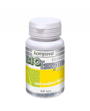 Kompava FytoEnzyme Complex 60 kapsúl
