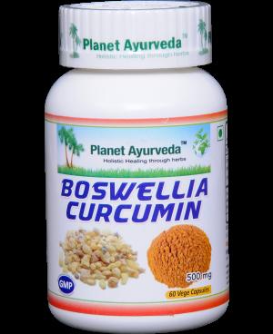 Planet Ayurveda Boswellia-Curcumin extrakt 10:1 500 mg 60 kapsúl