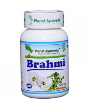 Planet Ayurveda Brahmi extrakt 10:1 500 mg 60 kapsúl
