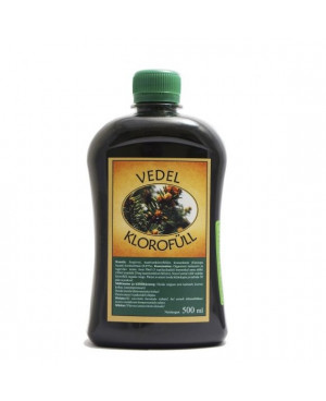 Chlorofyl zo sibírskeho smreku 500 ml
