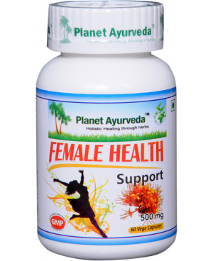 Planet Ayurveda Female Health Support (Podpora zdravia žien) extrakt 500 mg 60 kapsúl