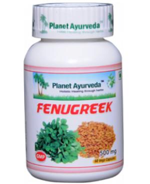 Planet Ayurveda Senovka grécka (Fenugreek) extrakt 8:1 500 mg 60 kapsúl