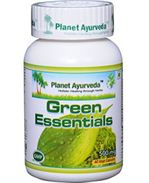 Planet Ayurveda Green Essentials extrakt 500 mg 60 kapsúl