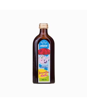 Serafin Čajový koncentrát Imunita detí 250 ml
