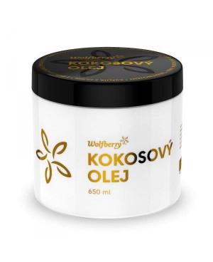 Wolfberry Panenský kokosový olej BIO 75 ml, 200 ml, 400 ml a 650 ml