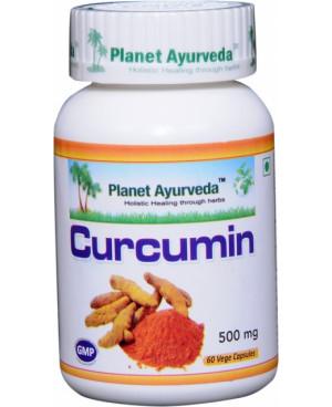 Planet Ayurveda Kurkumín extrakt 7:1 500 mg 60 kapsúl