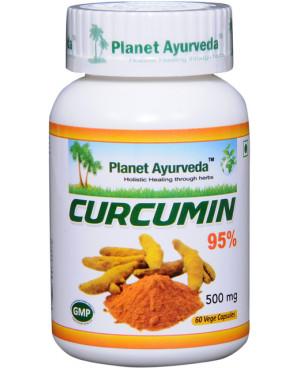 Planet Ayurveda Kurkumín 95% extrakt 7:1 500 mg 60 kapsúl
