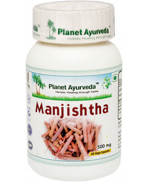 Planet Ayurveda Manjistha extrakt 10:1 500 mg 60 kapsúl