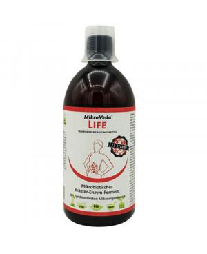 MikroVeda LIFE (fermentované enzýmy s bylinkami) 500 ml