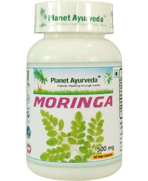 Planet Ayurveda Moringa extrakt 12:1 500 mg 60 kapsúl