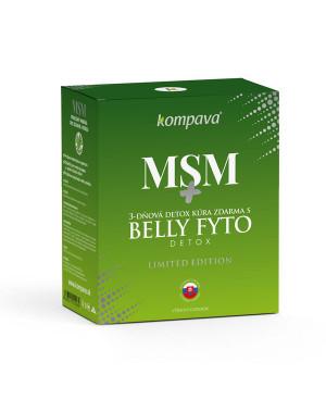 Kompava MSM 120 kapsúl + 3-dňová detox kúra