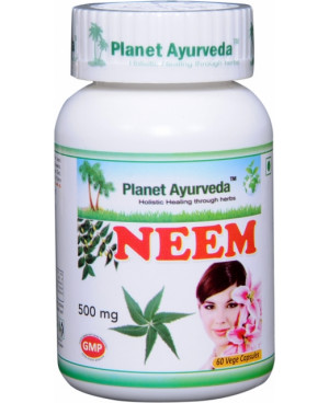 Planet Ayurveda Neem extrakt 10:1 500 mg 60 kapsúl