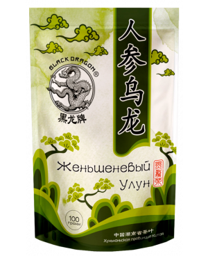 DRAGON zelený čaj so ženšenom OOLONG 100g