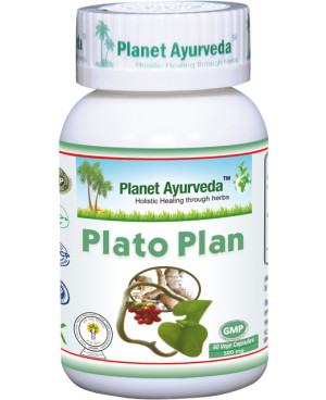 Planet Ayurveda Plato Plan 60 kapsúl