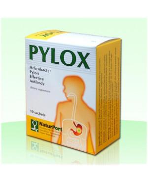 NaturPort PYLOX - Helicobacter pylori 10 vrecúšok