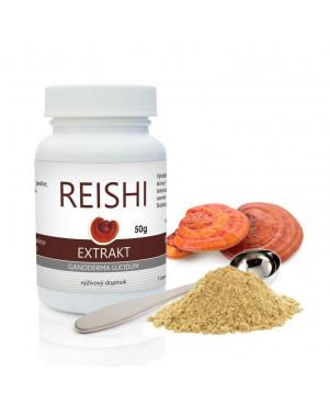 NaturPort Reishi BIO medicínsky extrakt prášok 50g