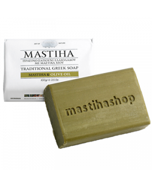 Tradičné grécke mydlo s mastichou a olivovým olejom 100g