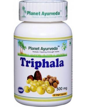 Planet Ayurveda Triphala extrakt 500 mg 60 kapsúl