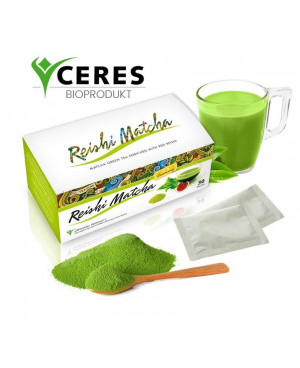 NaturPort Reishi Matcha čaj BIO (30 sáčkov x 1,5g)