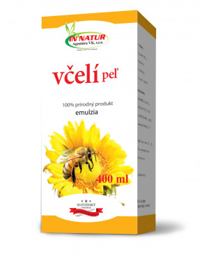 In Natur Včelí peľ emulzia 400 ml