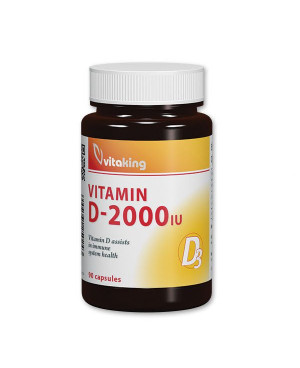 Vitaking Vitamín D3 2000 90 kapsúl