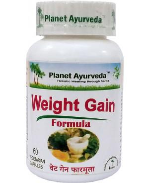 Planet Ayurveda Weight Gain Formula (nabratie váhy) extrakt 60 kapsúl
