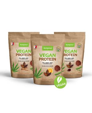 Kompava Vegan protein 525g