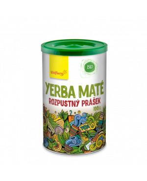 Wolfberry Zelený čaj Yerba maté prášok BIO 100g